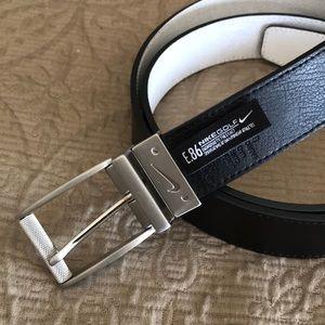 Men's Nike Golf reversible leather belt
